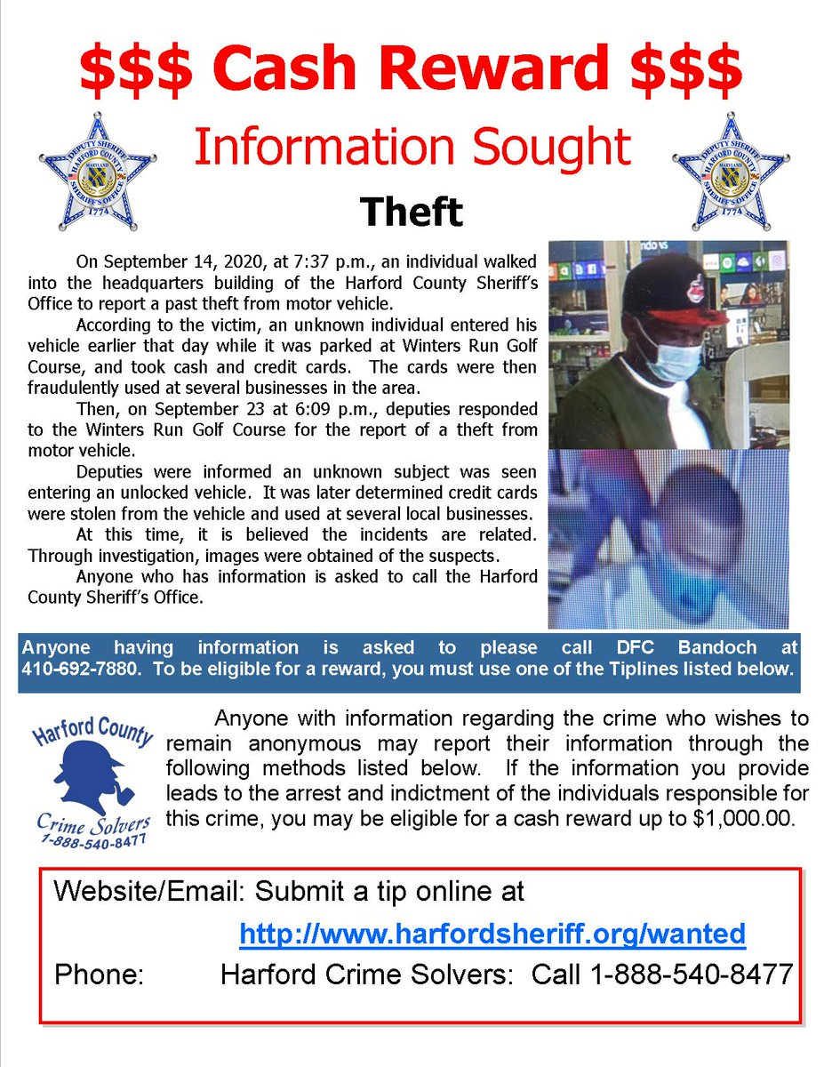 Do you have any information about these crimes?  We think they are related.