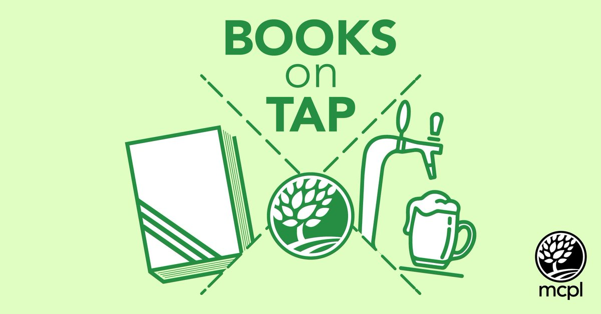 This Monday Books on Tap is going BYOB. That's Bring Your Own Book! The category is Manga, check out @hooplaDigital  and @LibbyApp to find a good one. Register at  and we'll send you a zoom link 30 minutes before book club begins! 7 PM, September 28.