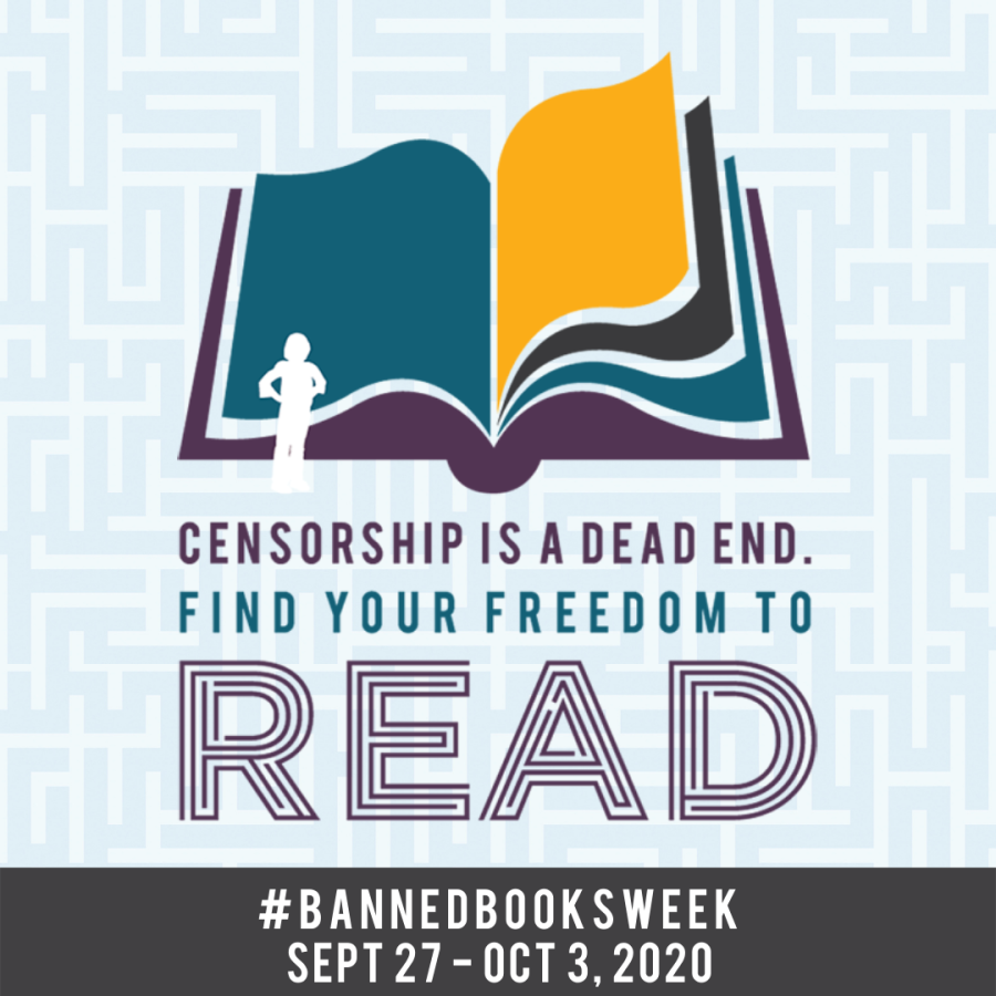 #BannedBooksWeek starts this Sunday!  Each year, the American Library Association tracks which books are being challenged in places like libraries, public schools and universities.