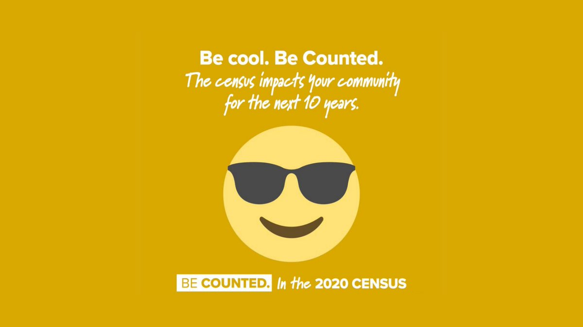 Be cool. 😎 Be counted. ✅ The #census impacts St. Louis Park for the next 10 years. Complete the #2020Census by the Sept. 30 deadline:  @uscensusbureau