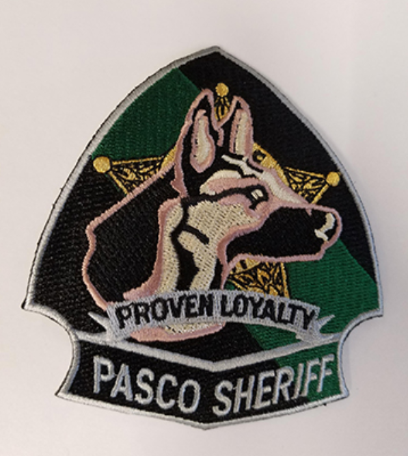 Interested in a K9 patch? You can get one at our Pasco Sheriff's Office Charities store!