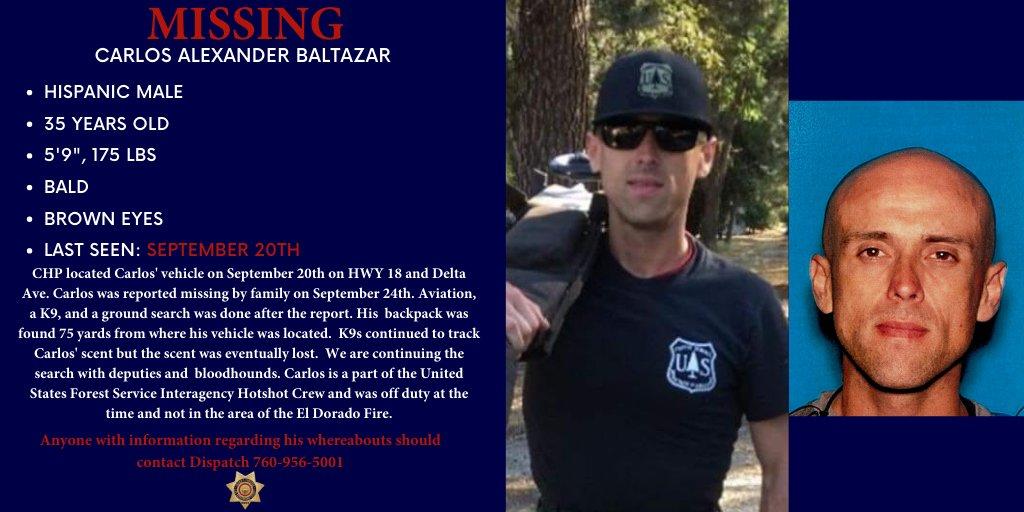 MISSING: The public's help is needed in locating Carlos Alexander Baltazar