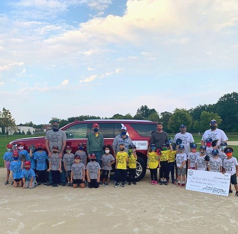 Hustle and heart set us apart! Our T-ball Fall Ball teams are having a blast so far this season, and we couldn't have done it without the support of DeKalb Sycamore Chevy & Mike Mooney ⚾ Thank you! #localsupportlocal #dekalbfallball