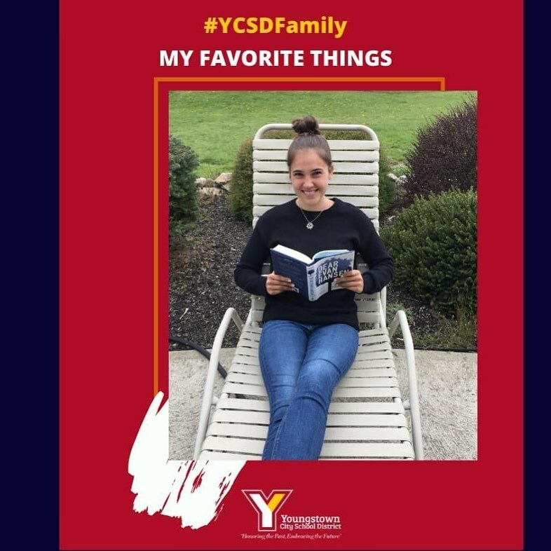 Each Friday, YCSD CEO Justin M. Jennings (@jmichael_33) shares some of the favorite things of our staff. Today's #FridayFavoriteThings is from Dominique Kestranek, Chaney High School 10th Grade English Teacher. She says,