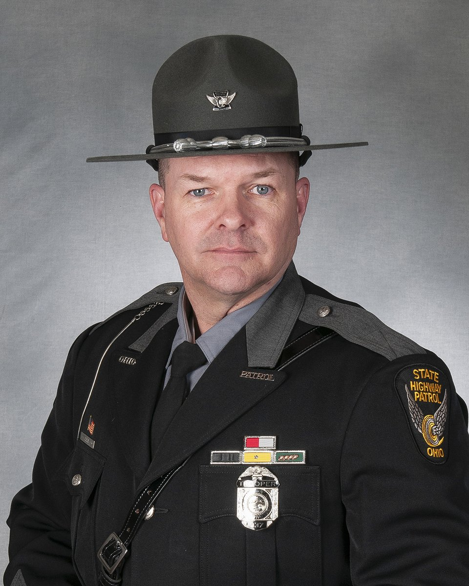 Please help us congratulate Trooper Robert D. McClelland, Jackson District Licensing and Commercial Standards, who retired today after 27 years of service to the Ohio State Highway Patrol and the citizens of Ohio.