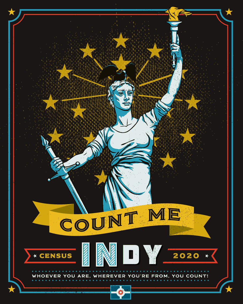 The deadline to respond to the 2020 Census is quickly approaching! Decisions about Indy's future – and the dollars for it – come down to counting everyone in the #2020Census. Fill yours out by the deadline, September 30th, at . #CountMeINdy