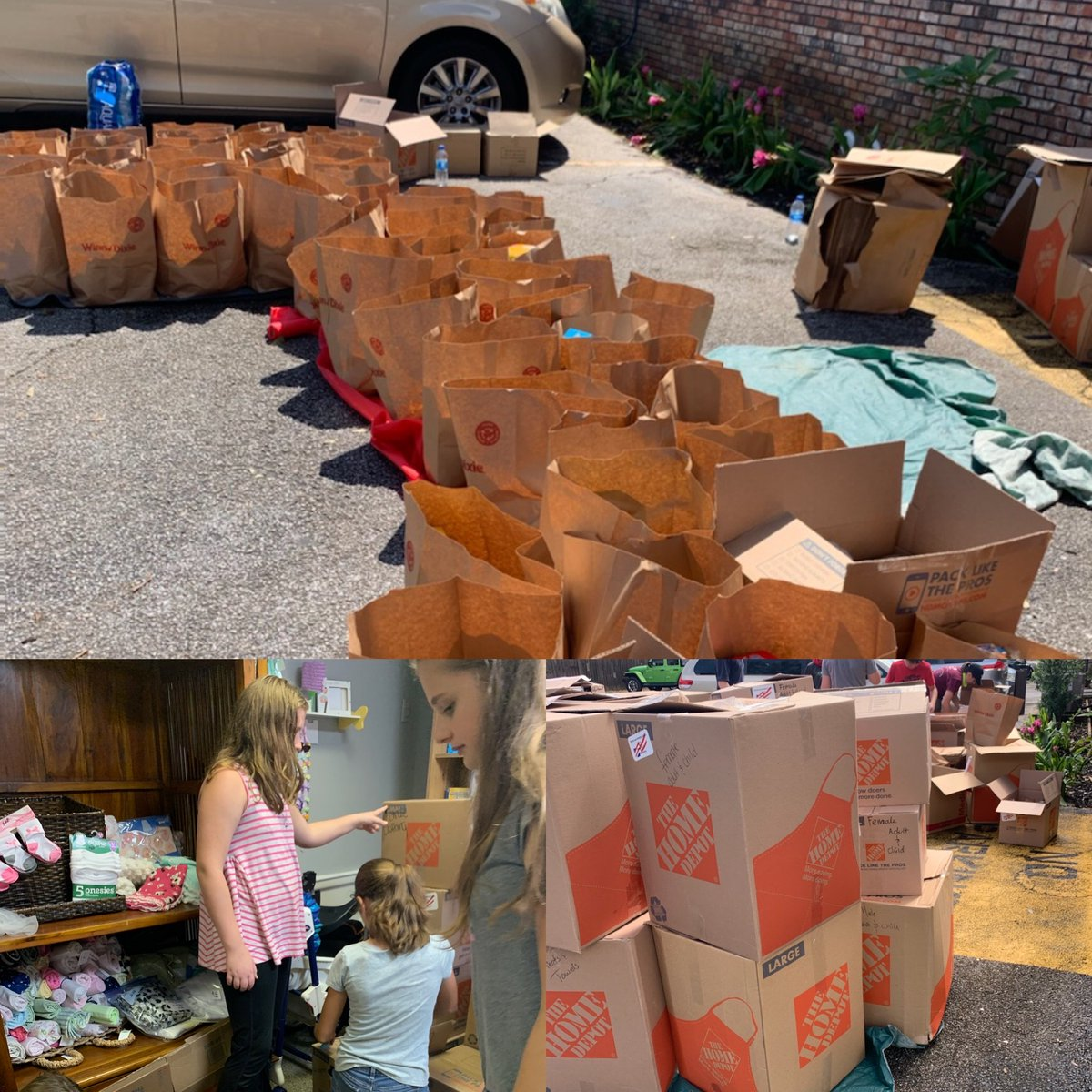 Donations are helping 8 groups including a homeless shelter, homeschooling families, churches and two hard-hit communities in Escambia Co.  We thank the students and staff of Lee Middle, along with all who donated, for representing Manatee County in a wonderful way! #WeManatee