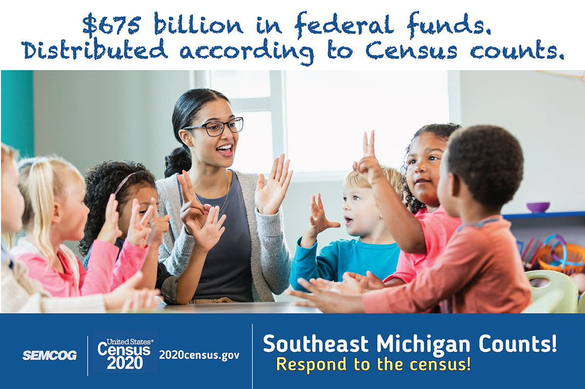 2020 Census results will inform decisions about allocating hundreds of billions of dollars in federal funding to communities across the country for hospitals, fire departments, school lunch programs & other critical programs and services. Learn more at: