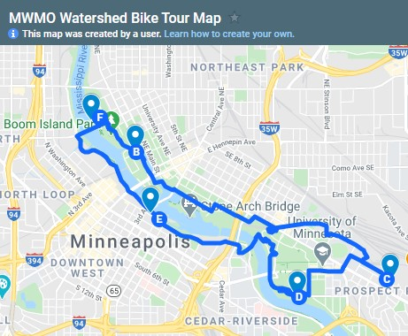 Hop on a bike this weekend and get a firsthand look at 5 cool restoration and stormwater management projects on MPRB parkland, from our partners @MississippiWMO. Bonus: no shortage of food/drink/relaxation spots along the way!