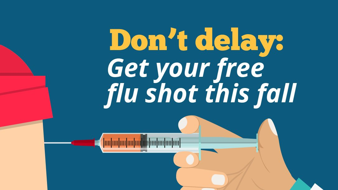 Now is the Time to Get a Seasonal Flu Shot in Union County: See your doctor, visit your local pharmacy or participate in Union County's free flu shot drive.  More details: