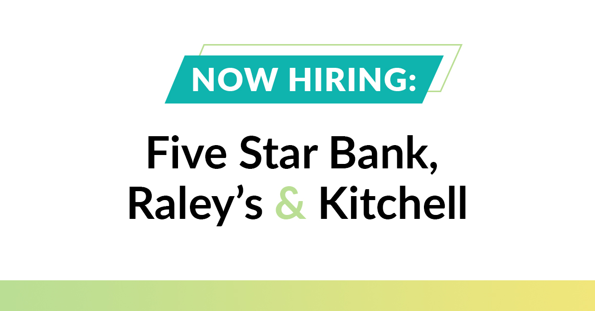 Looking for a new job? Multiple companies in the region are #NowHiring. Visit our jobs board –  – to apply for positions at top employers like @fivestarbank, @raleys and @KitchellCos (with more positions coming soon). #jobs #joblistings #opentowork