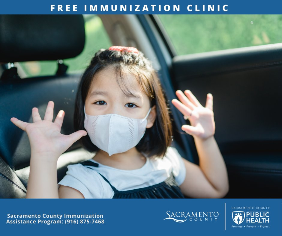 There will be a free flu vaccination clinic Saturday, Sep. 26, 9 a.m. – 2 p.m. at Church of Christ – Lemon Hill, 4910 Lemon Hill Ave, Sacramento   Learn more: