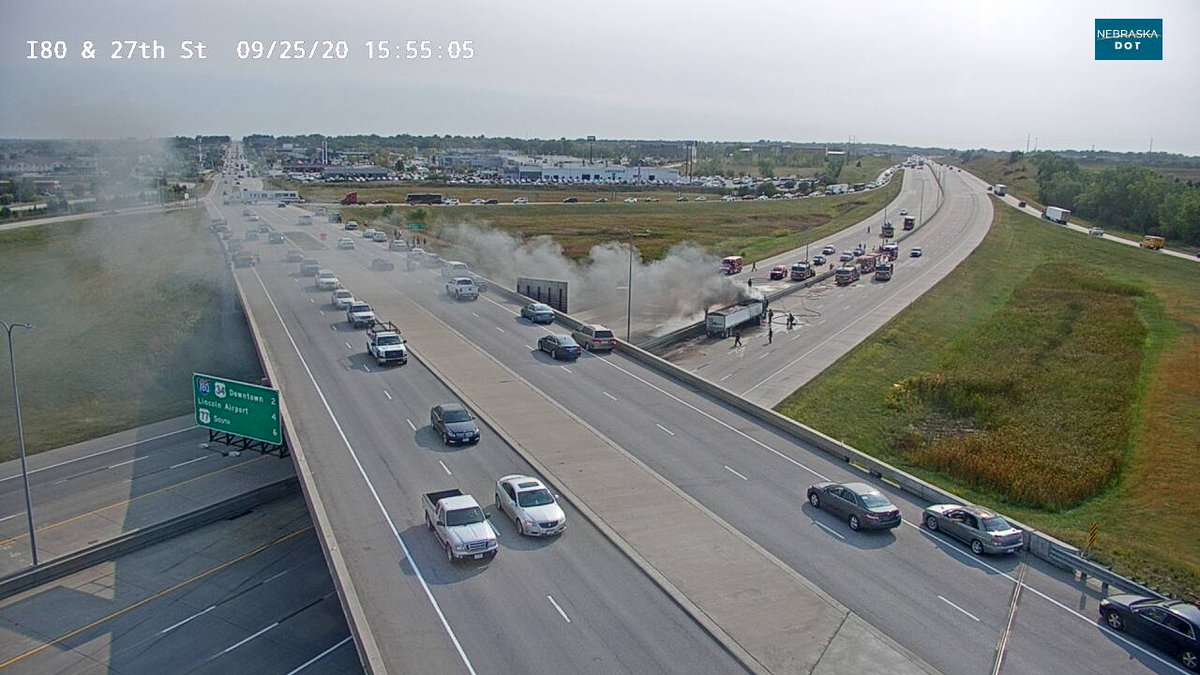 I-80 is CLOSED in both directions right now near the 27th Street exit because of this incident.   Please plan ahead and avoid the area for now with crews work the scene.