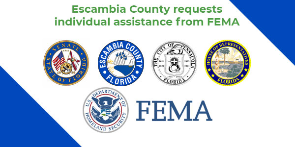 📢The Board of County Commissioners, the City of Pensacola Mayor and local state delegation members have sent a letter to the President of the United States requesting FEMA Individual Disaster Assistance in the aftermath of Hurricane Sally.   👀Read more: