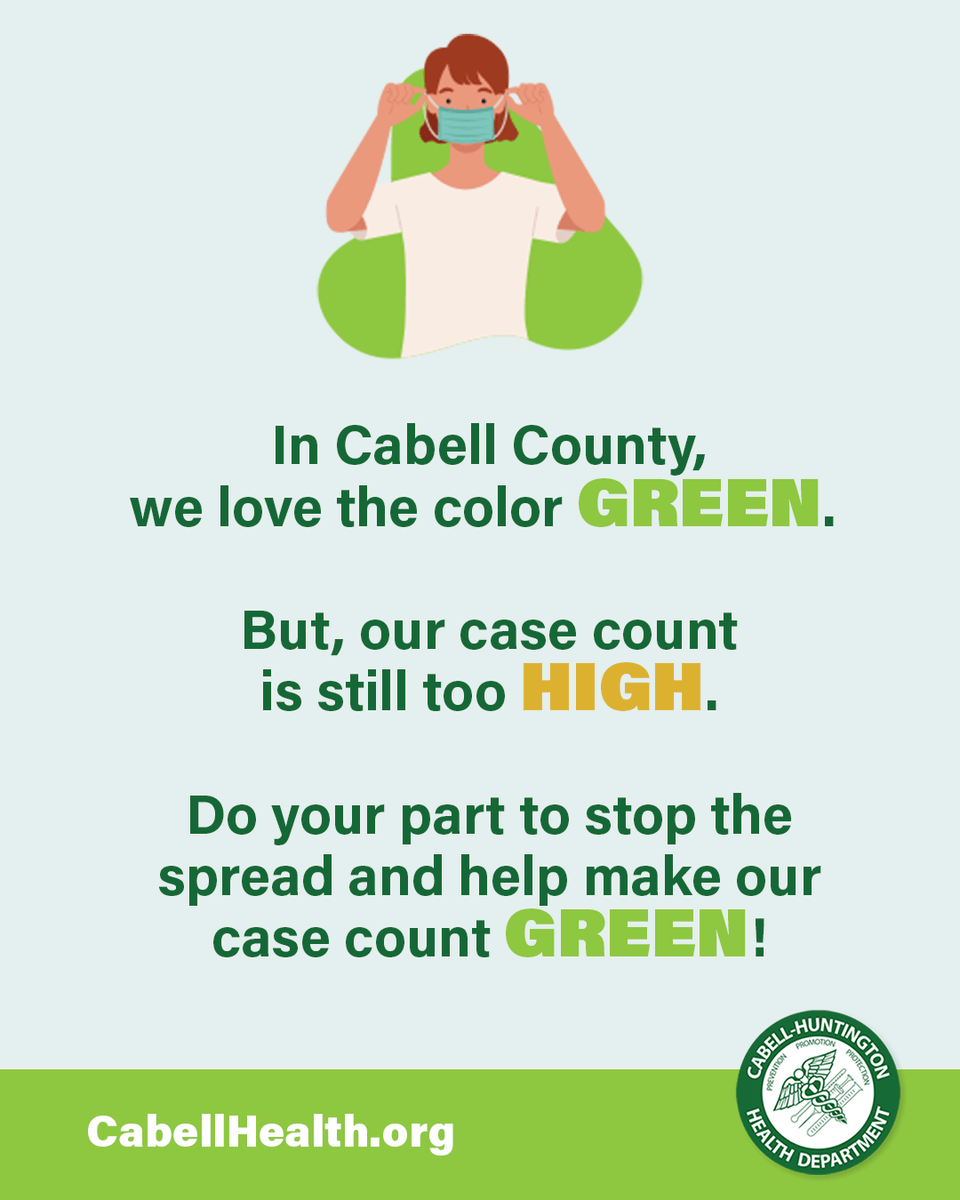 Do your part to help make our case count green!