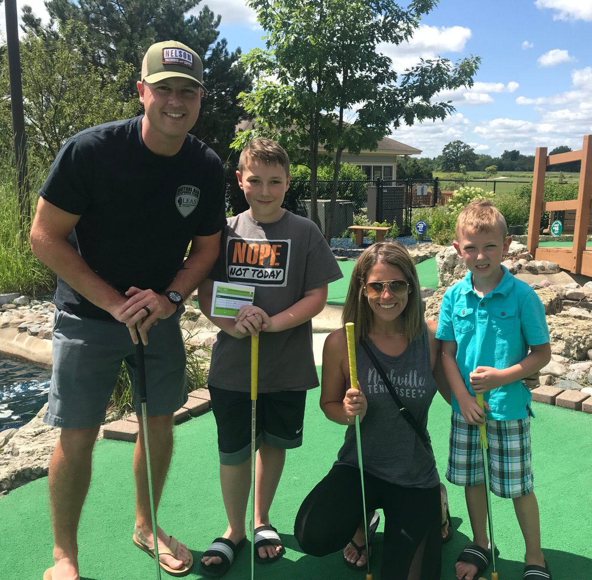 This is the last weekend (Sept 25-27) left to enjoy miniature golf and the driving range at Lippold Family Golf Center   Everything you need to know to plan your visit can be found on our website   Sept 25-27 Friday: 4-8 PM Saturday & Sunday: 9 AM-8 PM