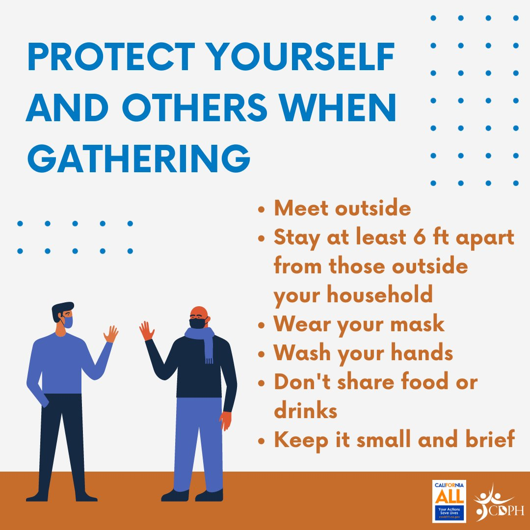 Remember to follow public health guidelines to keep yourself and your loved ones safe. We're all in this together. #YourActionsSaveLives