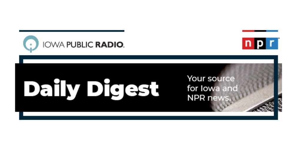 Catch up on the news of the day with the #IPRDailyDigest newsletter. Read today's issue here: Rising numbers of staff and students in quarantine causes a north-central school district to go online -