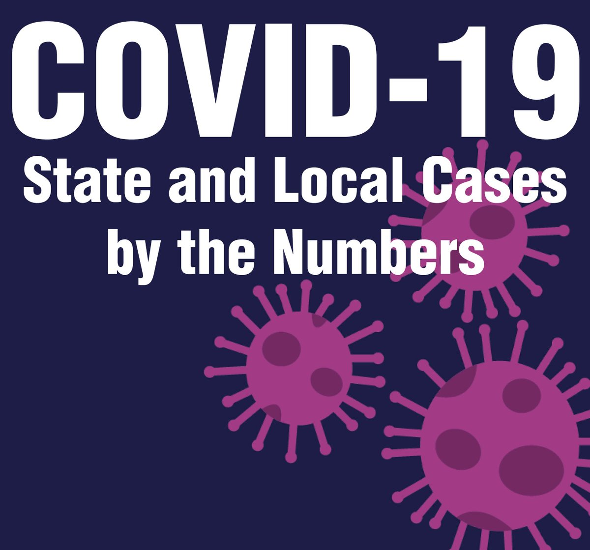 Coronavirus is still in our community and we must all continue the fight against COVID-19. To view the dashboard on the city's website, visit . To view the full cases by the numbers report, visit .