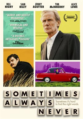 Tonight's Friday Night Flick is 'Sometimes Always Never', a Drama/Comedy about a man and his torn family figuring out how to find their missing son and reunite once again.