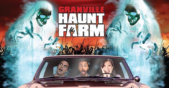 Granville Haunt Farm will begin hosting NC's first drive-through haunted trail on Oct. 9-31. Ride through the haunted trail in your car & be scared by the actors that will jump out at you. For more info, like times & pricing, see below. #NCAgriculture