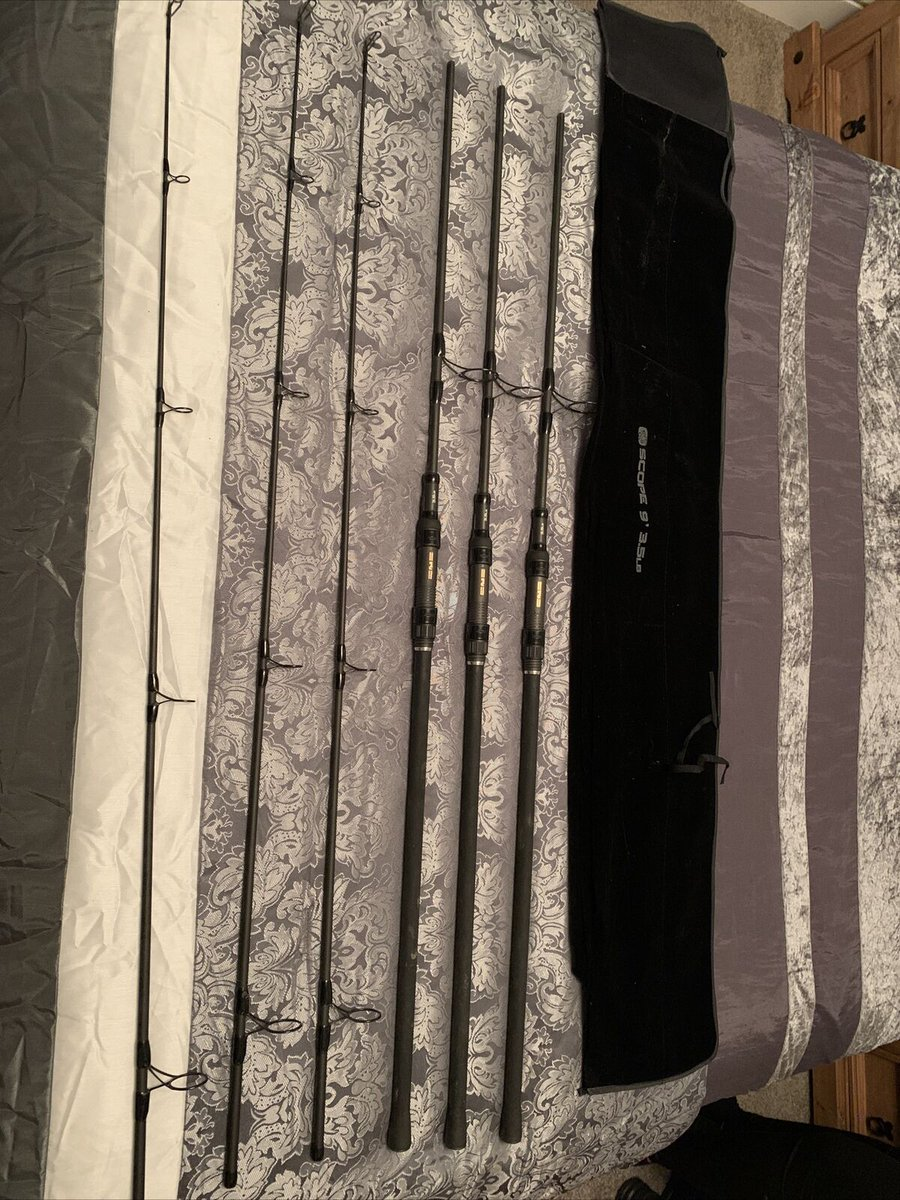 Ad - Nash Scope rods 9ft 3.5 TC x3 With Original Bags On eBay here -->> https://t.co/88LxbgRio
