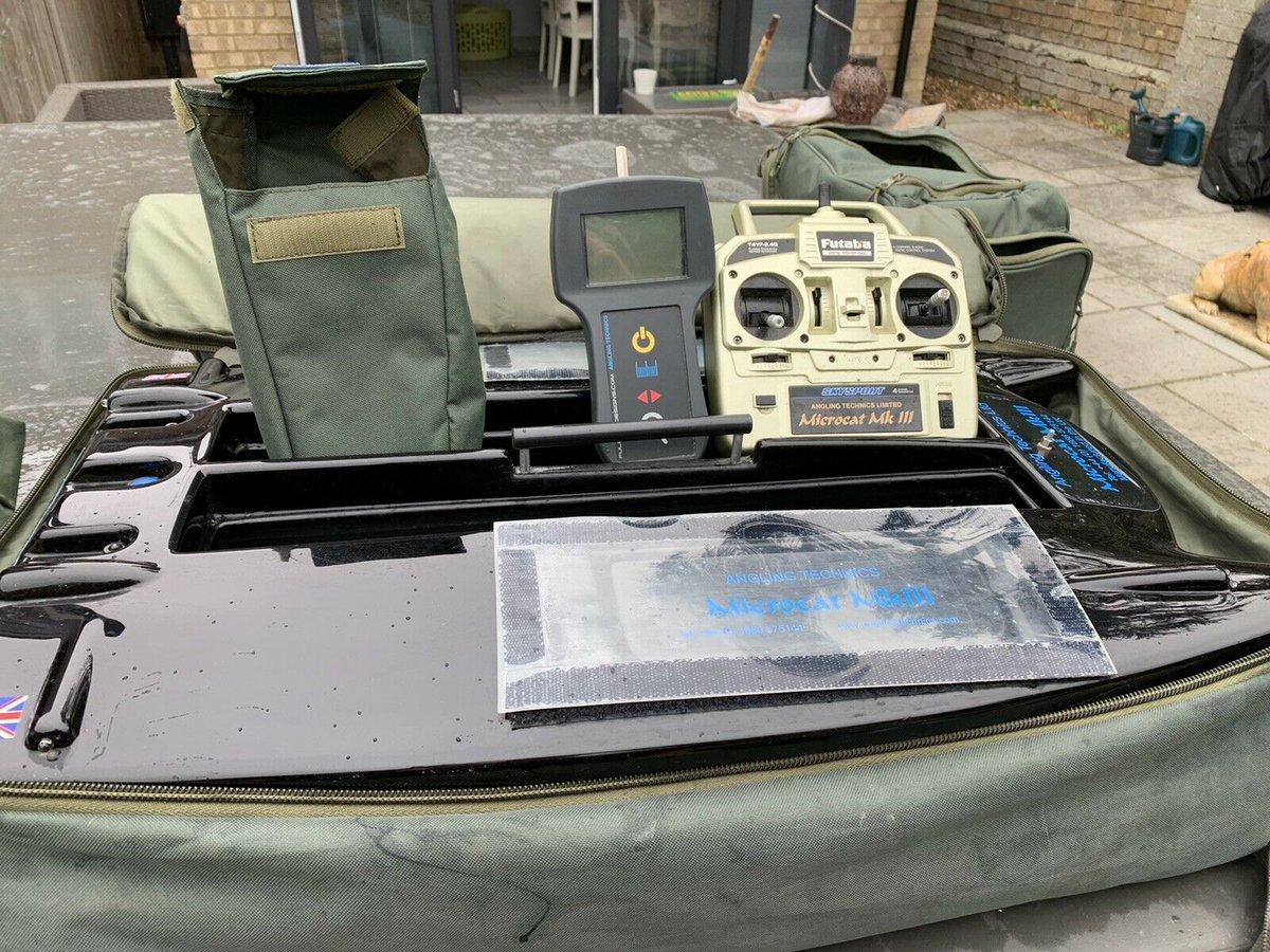 Ad - Angling Technics Microcat Bait Boat On eBay here -->> https://t.co/2Y3CXxIVQq  #carpfishi
