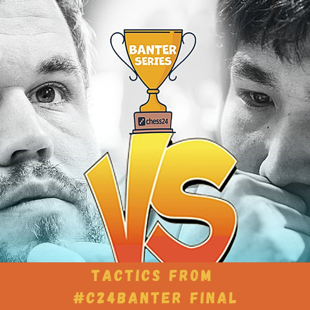 test Twitter Media - Magnus Carlsen beat Wesley So 5,5-3,5 in the final of @chess24com Banter Blitz series. Here are some tactical highlights of these 9 games, #yourmove!  Games: https://t.co/lSElwORDDA   #c24live #c24Banter #chess https://t.co/aFxkkbpuyQ