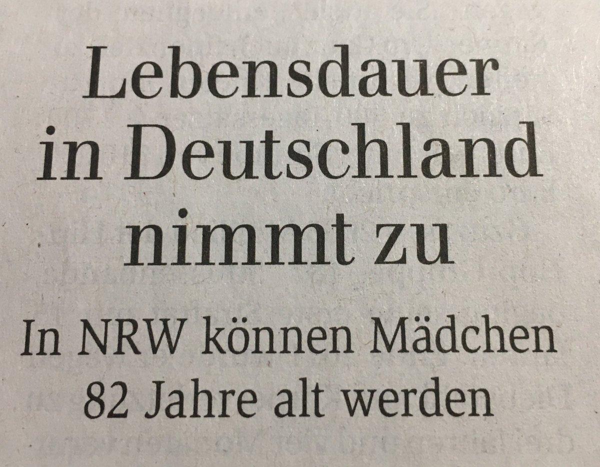 test Twitter Media - Irgendwie, lieber @gabonn, habe ich den Verdacht, dass auch in NRW Mädchen mit etwas Glück sogar noch älter werden können. https://t.co/o47SKQtHSA