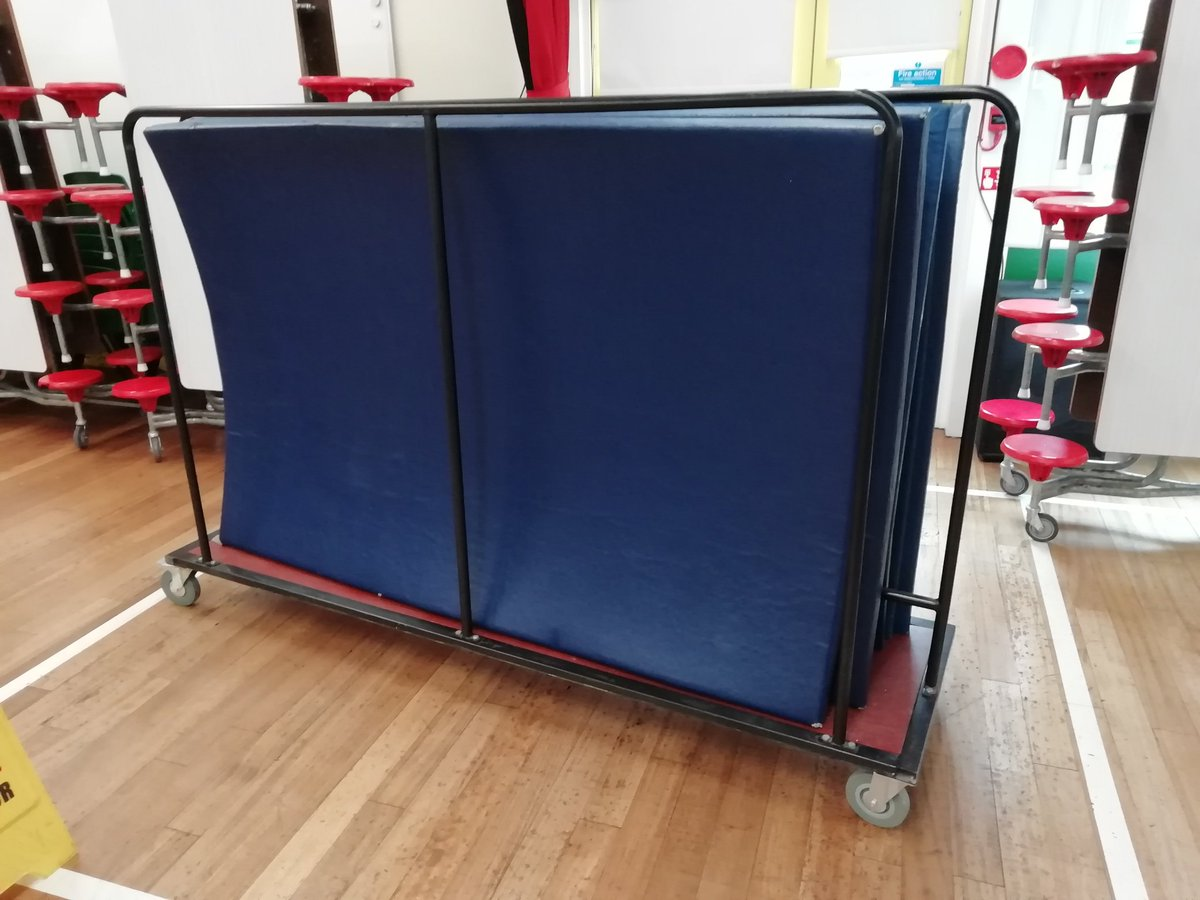 test Twitter Media - Thankyou Simone School of Dance for the donation of a lovely mat trolley. It's loaded ready to go. https://t.co/3CmlBVZWQt