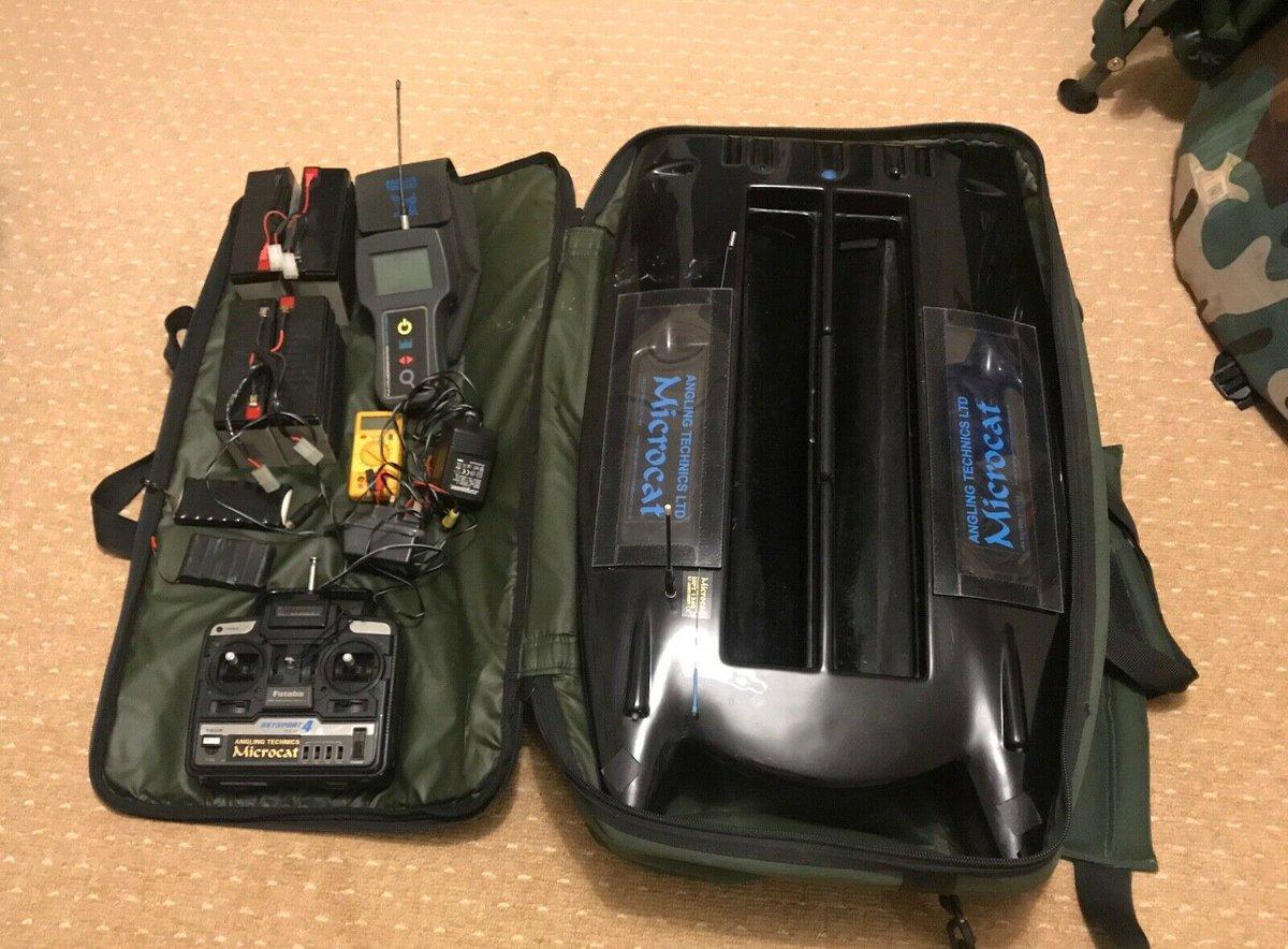 Ad - Angling Technics Microcat Bait Boat & Echo Sounder On eBay here -->> https://t.co/W8x