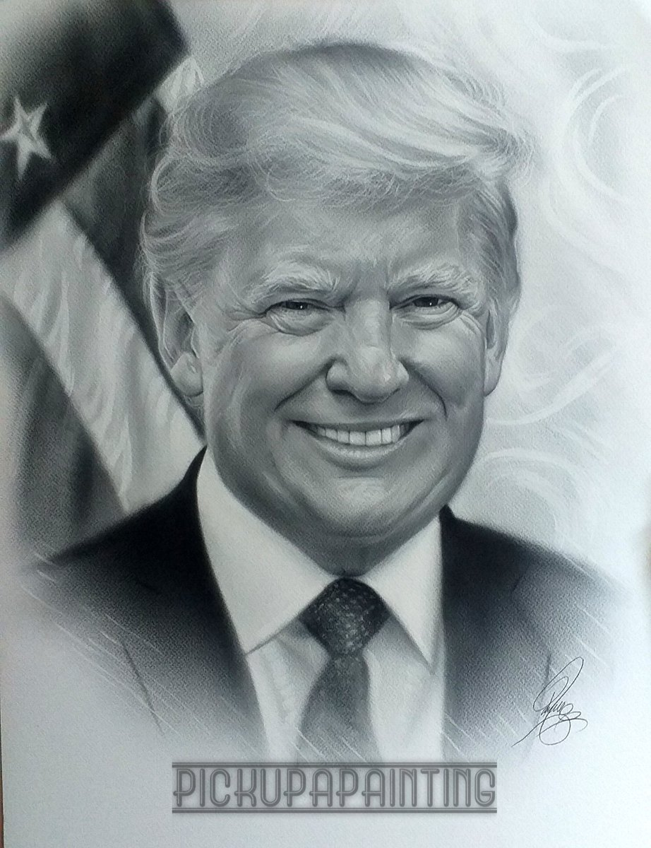 @RealJamesWoods Hi James would u be so kind to share my painting of @potus  Would love him to see it  May cheer him up
