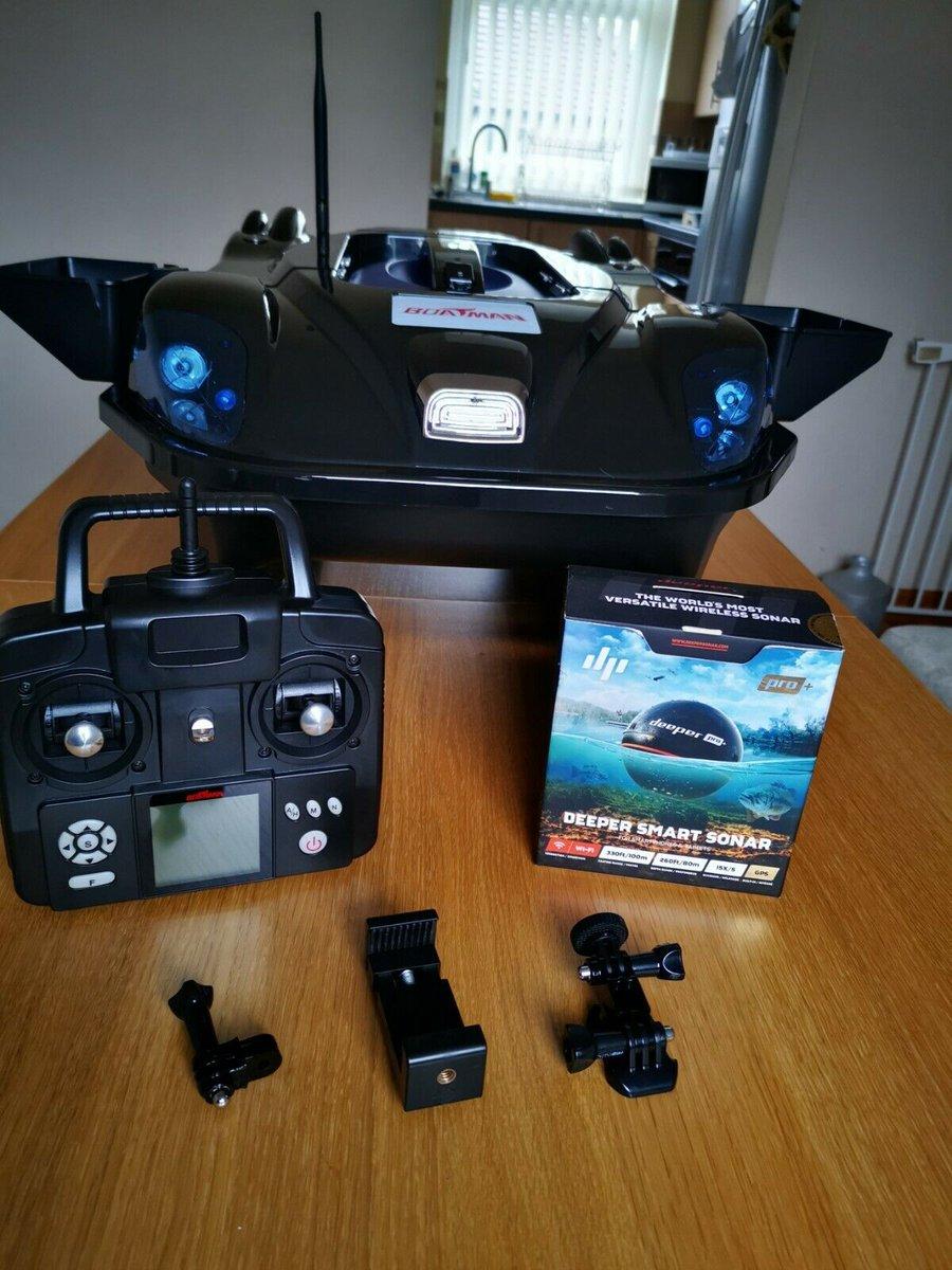 Ad - Leader Bait Boat with Deeper Pro + On eBay here -->> https://t.co/arKQx8F6rz  #carpfishin