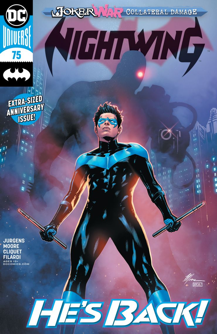 Nightwing #75 Review   @dccomics #nightwing #dickgrayson #comics