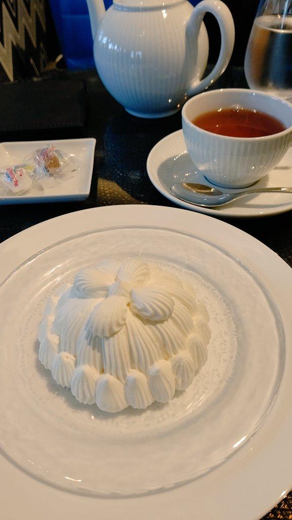 test ツイッターメディア - 東京會舘でプレミアムマロンシャンテリーを食べて来ました! 幸せな時間でした✨ https://t.co/5wHbtSzxHh