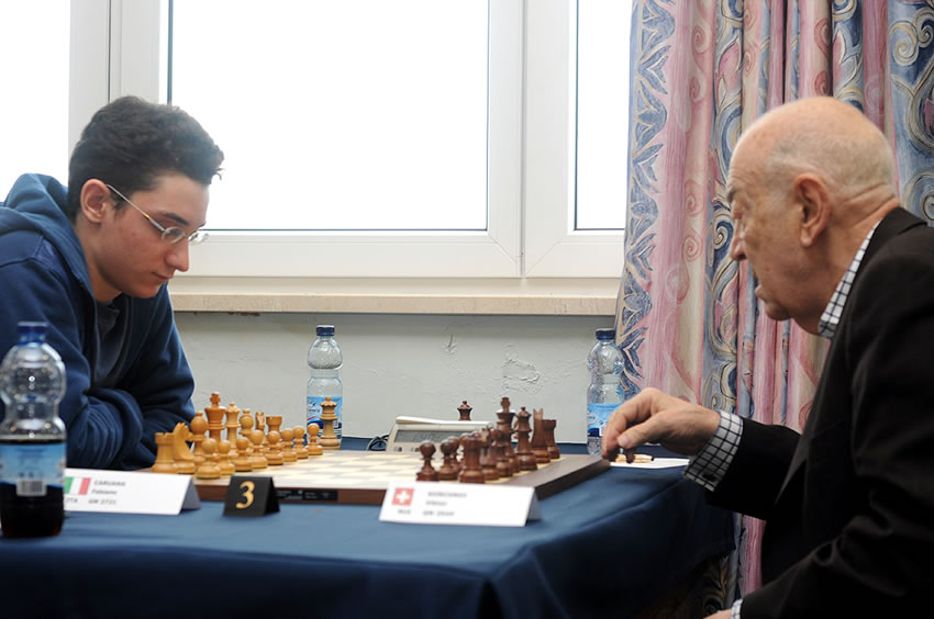 test Twitter Media - Numbers 20 and 19 on Jan & Peter's 50 Greatest Chess Players of all Time are...  20. Viktor Korchnoi 19. Fabiano Caruana!   Viktor famously beat a young Fabi in Gibraltar at the age of 79!  https://t.co/RvtmkZET4J   #c24live https://t.co/hYAB9LAGif