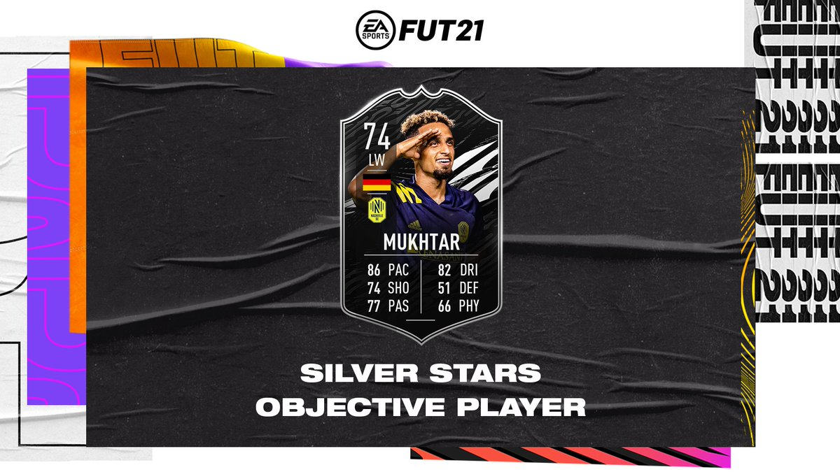 #EveryoneN for this German attacker 👊  @NashvilleSC's Hany Mukhtar is this week's Silver Stars Objective Player. Available to unlock now in #FUT21