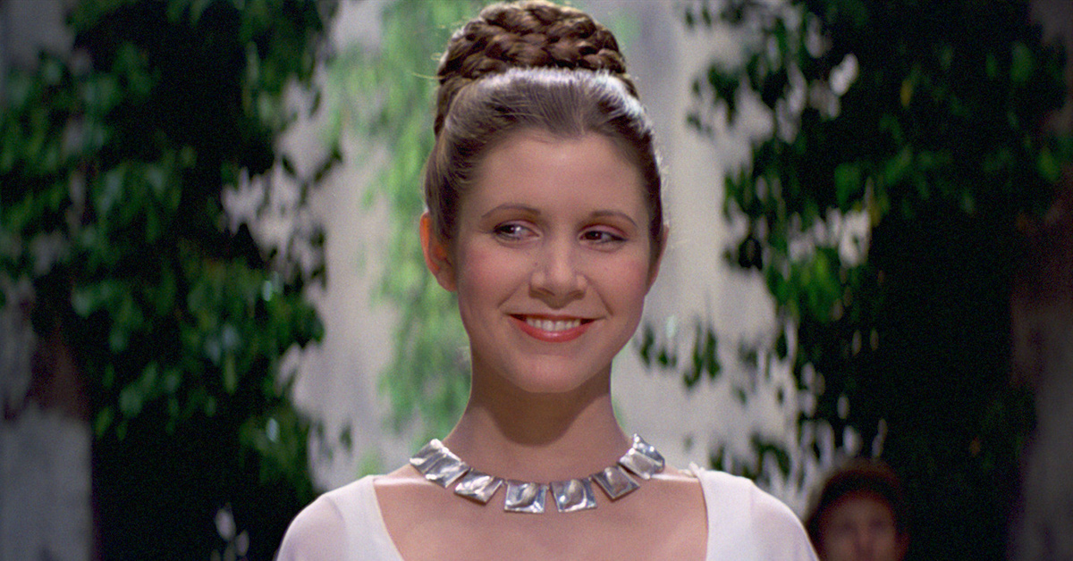 We're remembering our courageous princess, the iconic Carrie Fisher on her birthday.