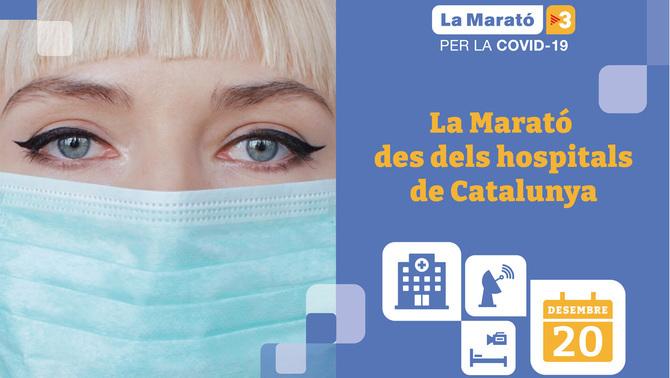 Et desvelem més detalls sobre La Marató: aquest any, el programa es viurà en directe des dels principals hospitals de Catalunya 👉  #TocaATothom