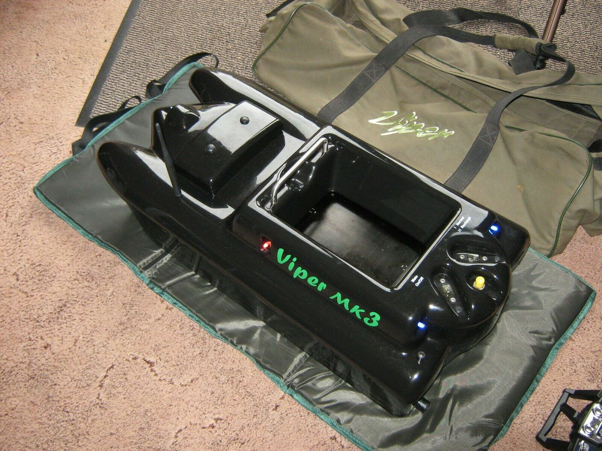 Ad - VIPER MK3 BAIT BOAT WITH FISH FINDER + EXTRAS On eBay here -->> https://t.co/KfGxJLh53a