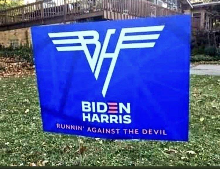 """Have you seen junior's polls?"" #BidenHarris2020"