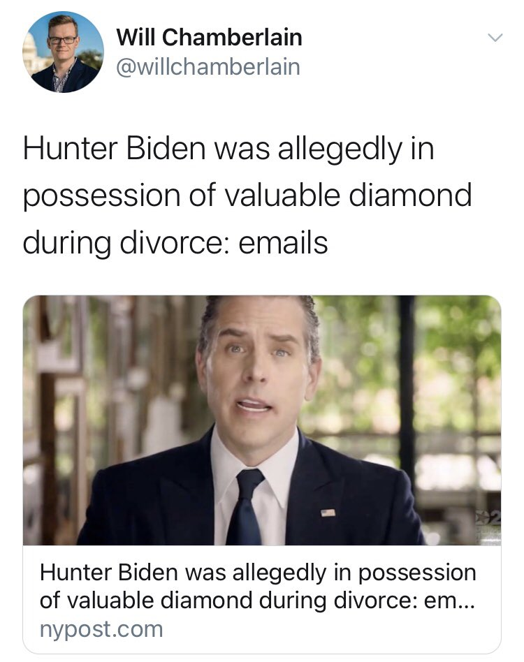Ooooooo a DIAMOND! What a crackling cozy mystery! Is there any evidence linking him to Colonel Mustard's stabbing in the billiards room?