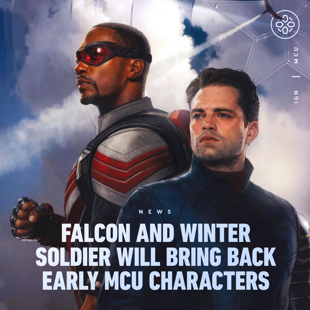 """The Falcon and Winter Soldier writer Derek Kolstad says it's going to be """"f**king awesome"""" to see how the series brings back and reinvents original MCU characters."""