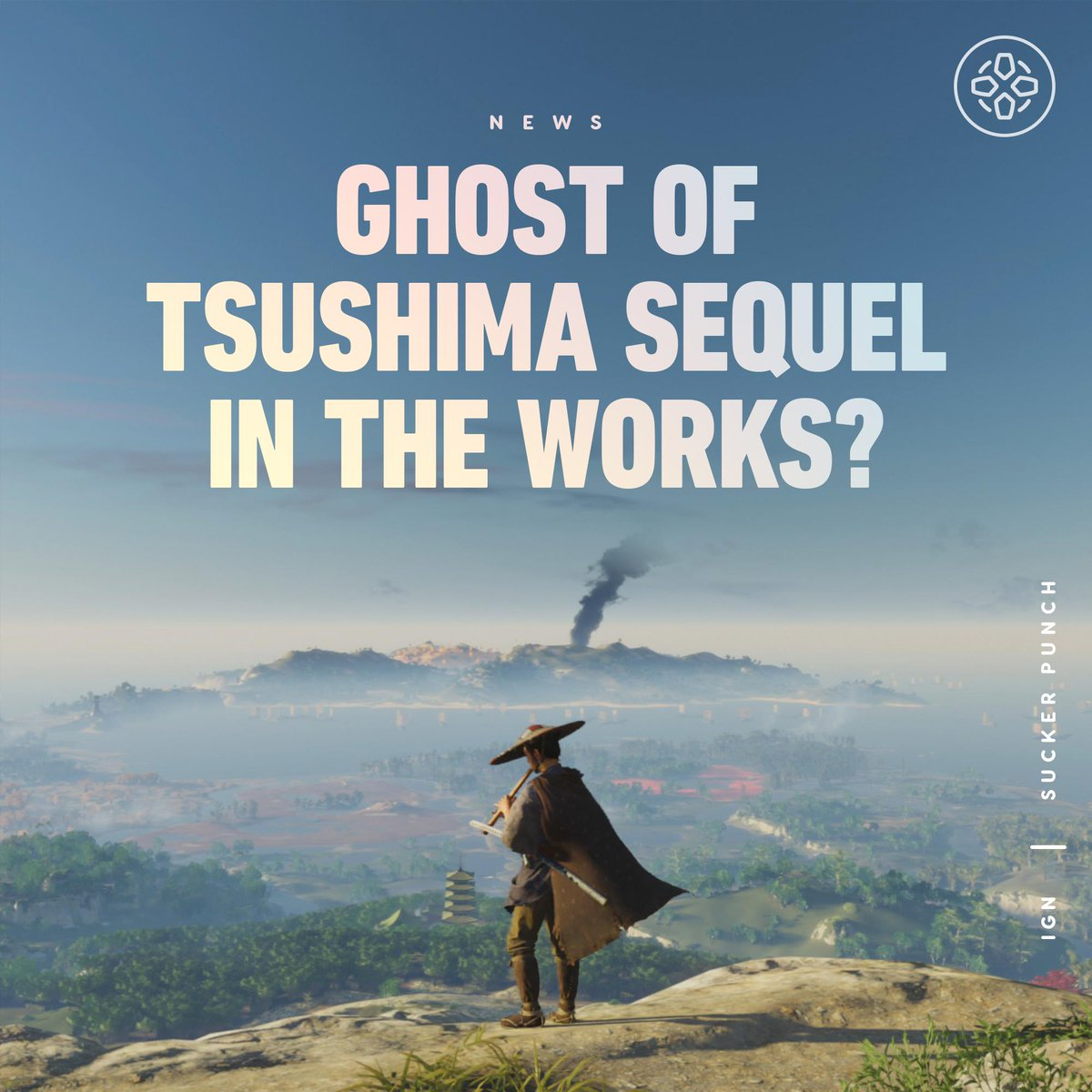 """A narrative writer job listing for Sucker Punch may hint at a sequel to Ghost of Tsushima set in """"feudal Japan""""."""