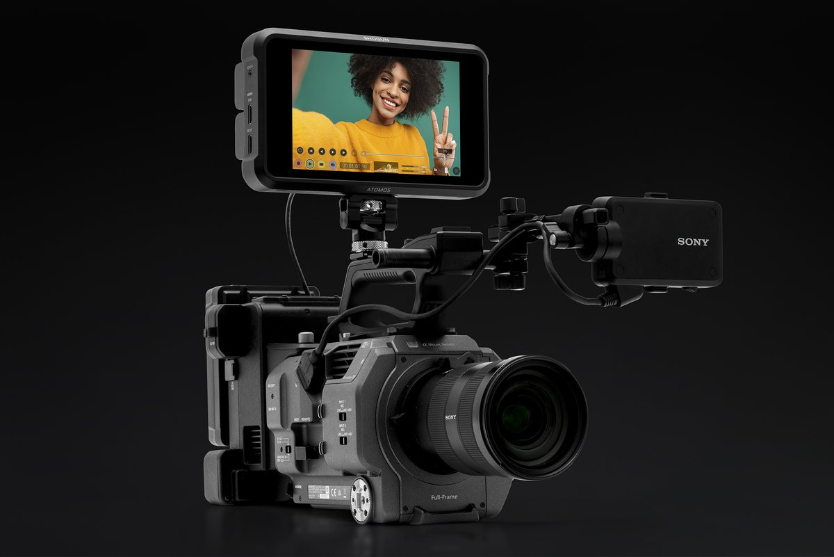 RT @AtomosGlobal: Announcement & Firmware Release ? Today the Shogun 7 AtomOS 10.42 free firmware enables ProRes RAW images from the @SonyP…