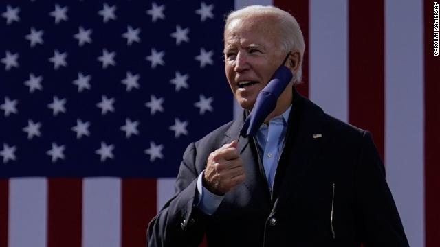 Democratic nominee Joe Biden tested negative for Covid-19 ahead of tonight's final debate