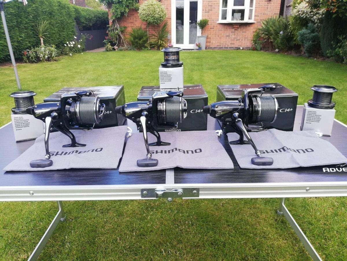 Ad - 3x Shimano Big Pit Baitrunners CI4+ XTR LC On eBay here -->> https://t.co/r960HI2GxR  #ca