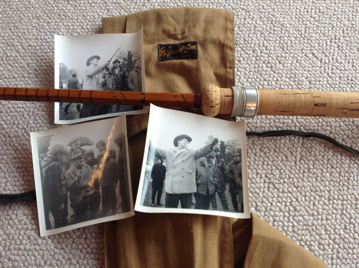 Ad - Richard Walker  B James Mk4 split cane carp <b>Rod</b> On eBay here -->> https://t.co/RSE