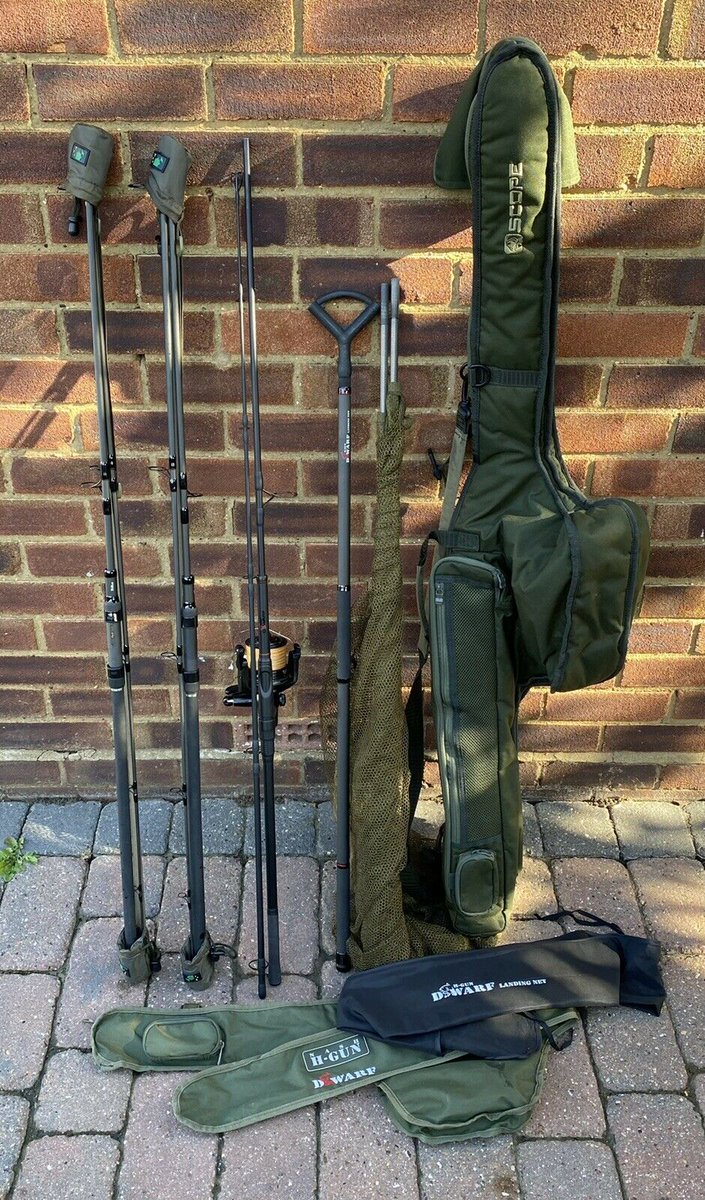 Ad - Nash Scope / Dwarf Rods & Spod 10ft Carp Fishing Set Up On eBay here -->> https://t.c