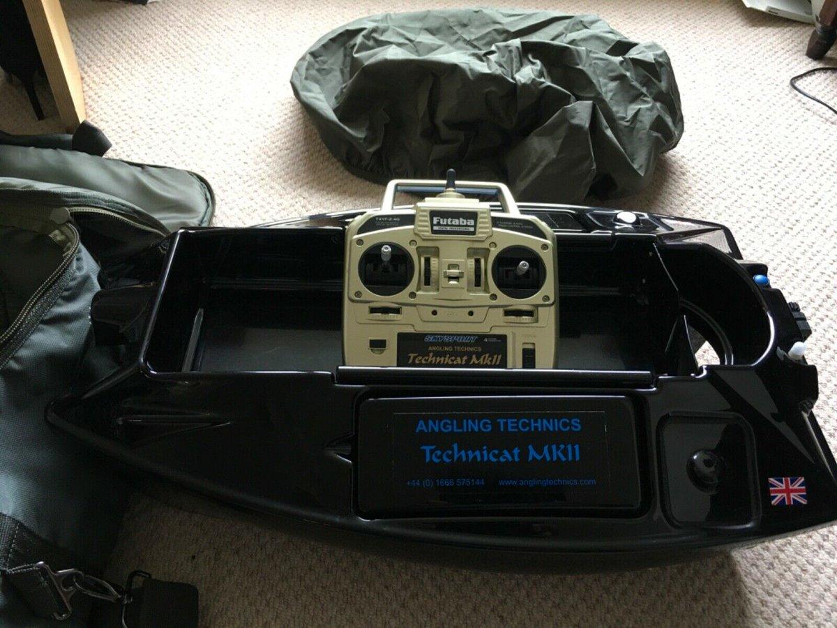 Ad - Angling Technics Technicat MK2 Bait Boat + Bag On eBay here -->> https://t.co/RQuyKVaTrY
